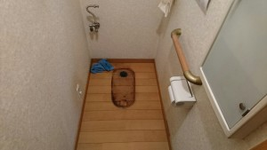 松戸の便器交換の水道工事